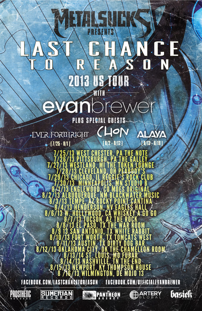 Last Chance to Reason / Evan Brewer U.S. Tour